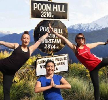 PoonHill Yoga Trek