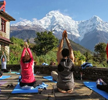 Yoga Trek In Annapurna