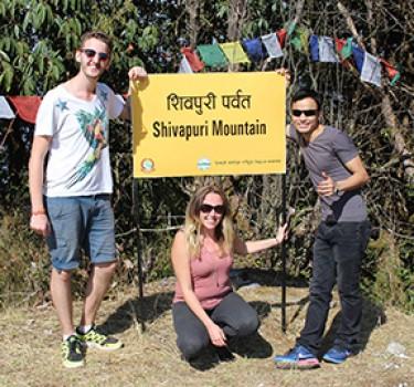 Hike the Shivapuri to see 8000'ers