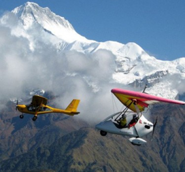 Ultra Flight In Pokhara
