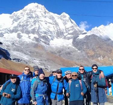 School Travel Annapurna Base Camp Trek