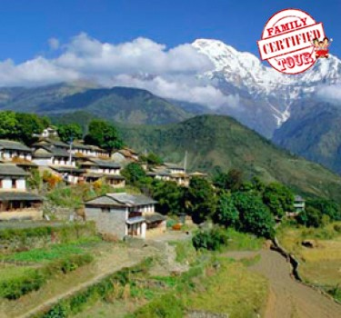 Ghorepani And Poon Hill Family Trek