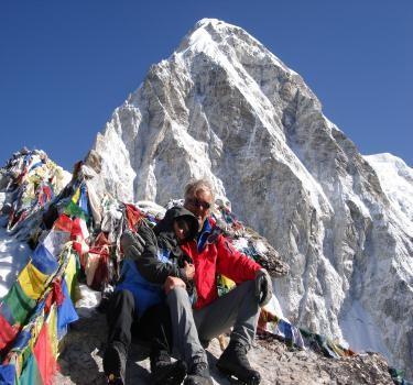 Trekking en el campamento base del Everest