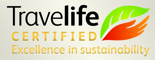 Travelife Certified Excellence in Sustainability