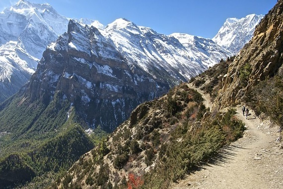 Annapurna Base Circuit Trek is the words best route for trekker to trek in nepal
