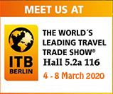 Trekking Team Group participating at ITB berlin 2020 fair