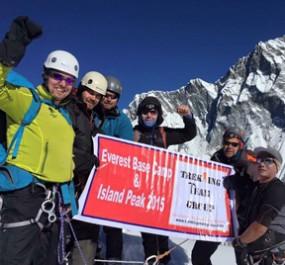 Trekking Peak up to 6500m